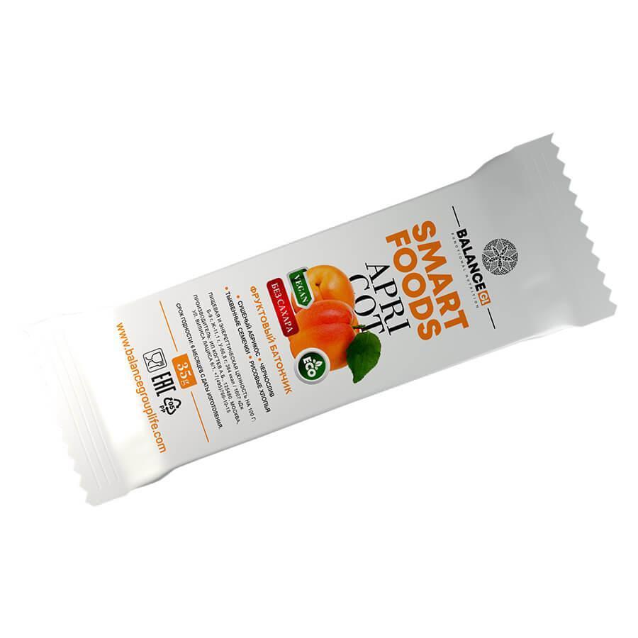 фруктовый батончик абрикос